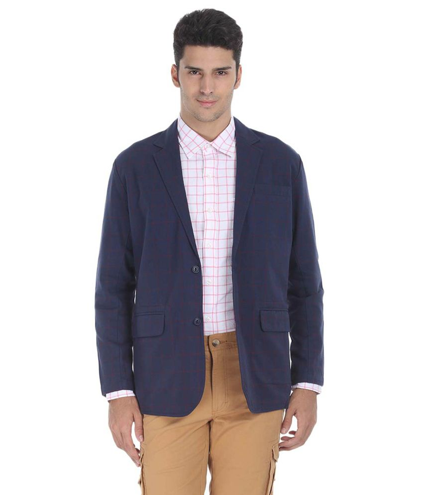 Zobello Cotton Semi-Formal Blazer