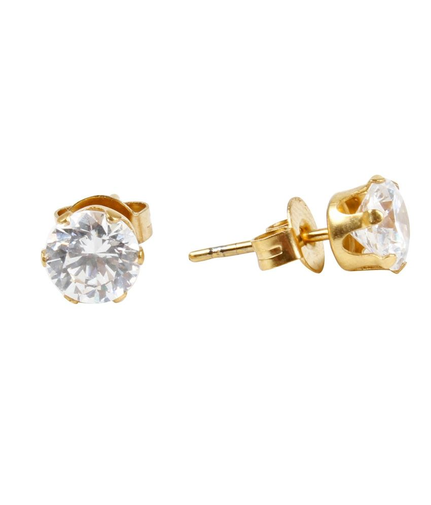 e1ce73991e4b0 Jewels Galaxy Precious Collection Of Fancy American Diamond Earrings -  Combo Of 5