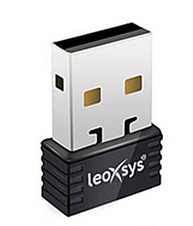 Leoxsys 150 Mbps Nano WiFi USB Wireless Adaptor (LEO-NANO150N)