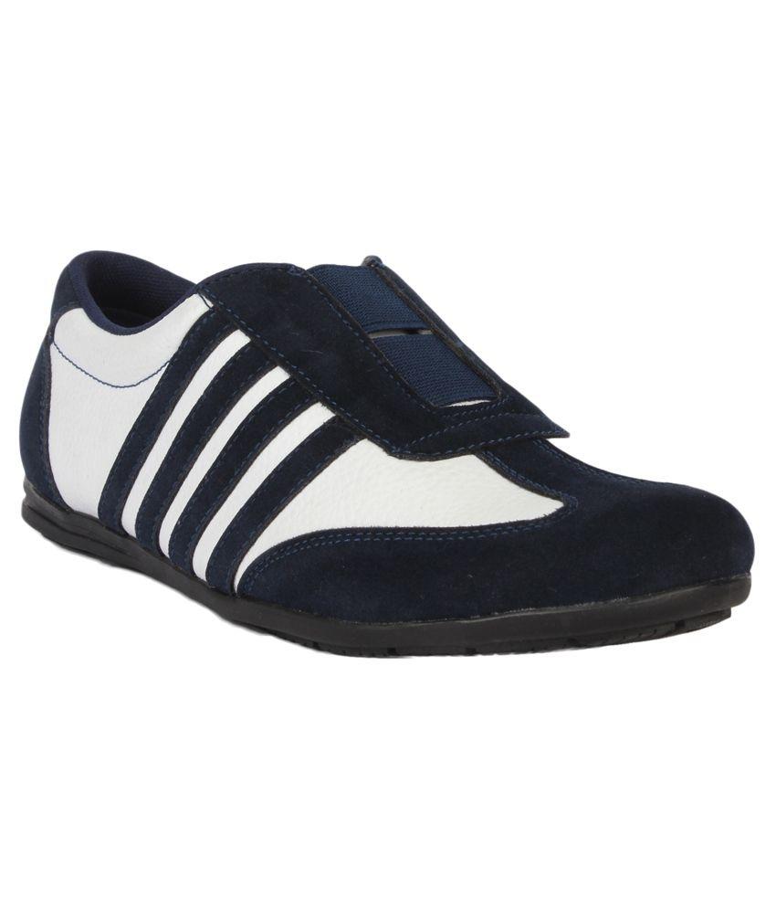 walk black slip on casual shoes