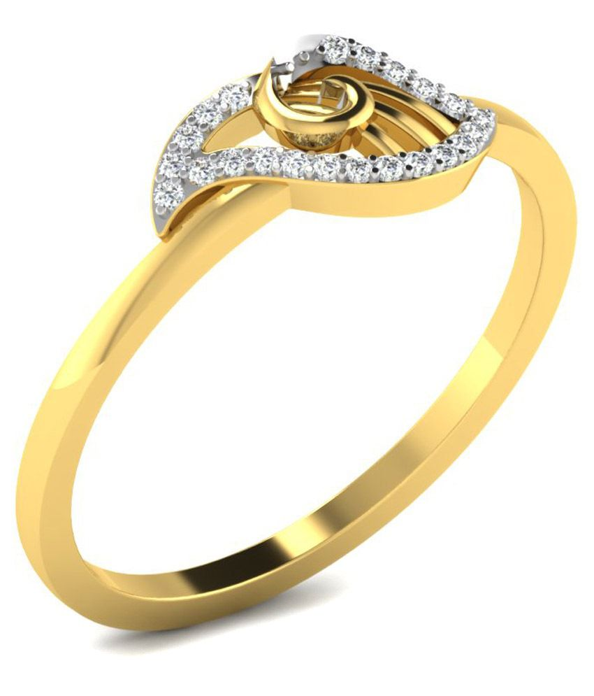 His & Her 18Kt Gold Ring