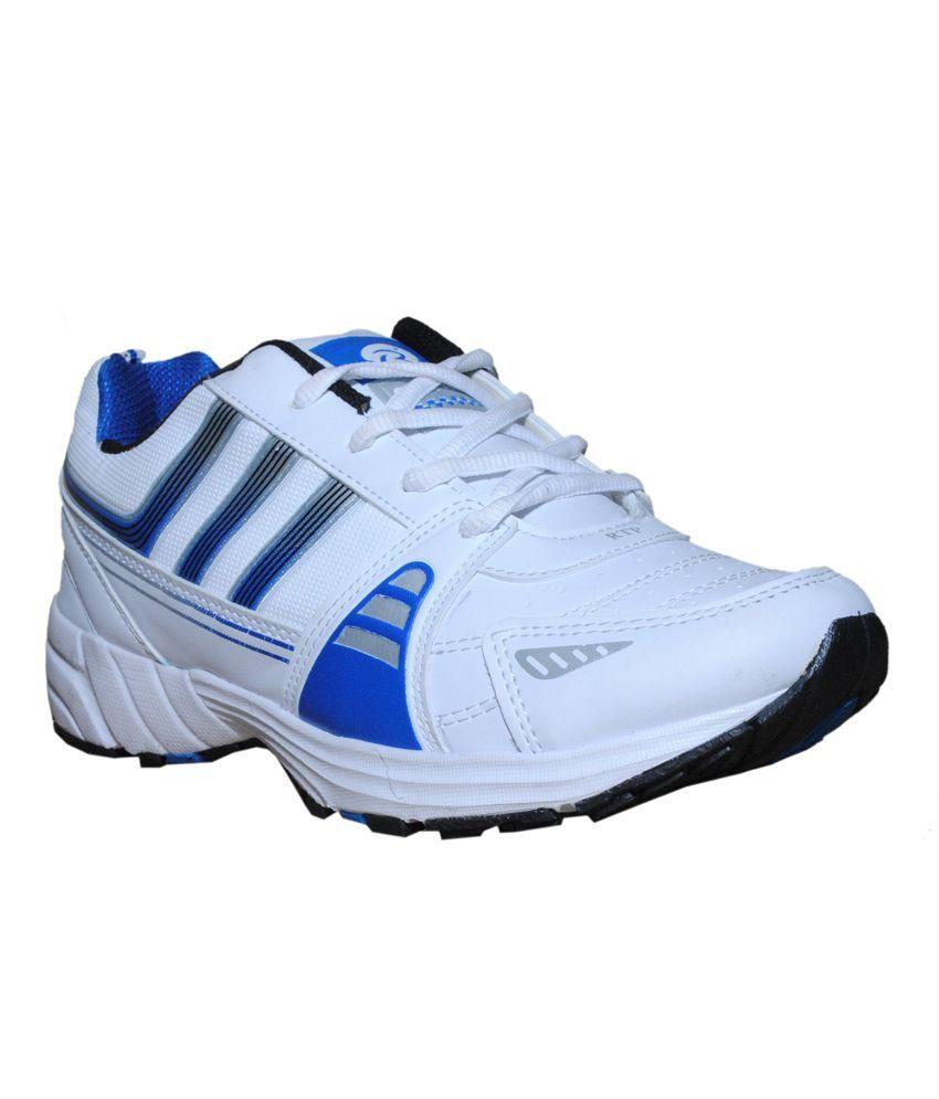 Rich N Topp White Sports Shoes