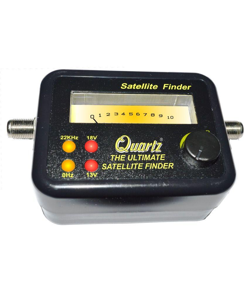 quartz satellite finder meter buy quartz satellite finder meter online at low price in india. Black Bedroom Furniture Sets. Home Design Ideas