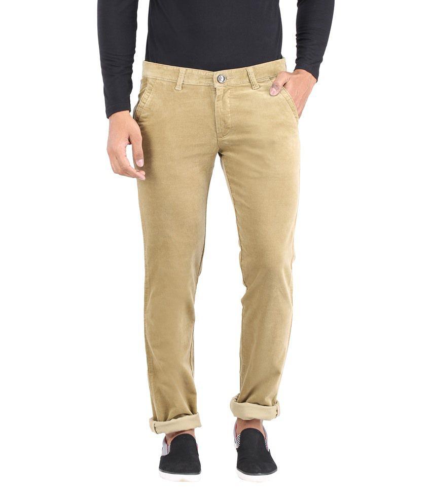 Rican Khaki Regular Fit Jeans