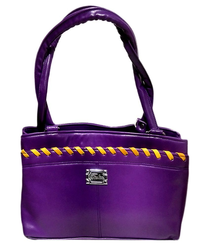 Richa Bags Purple Shoulder Bag