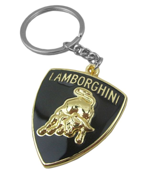 Tag3 Lamborghini Car Metal Golden High Quality Logo Key