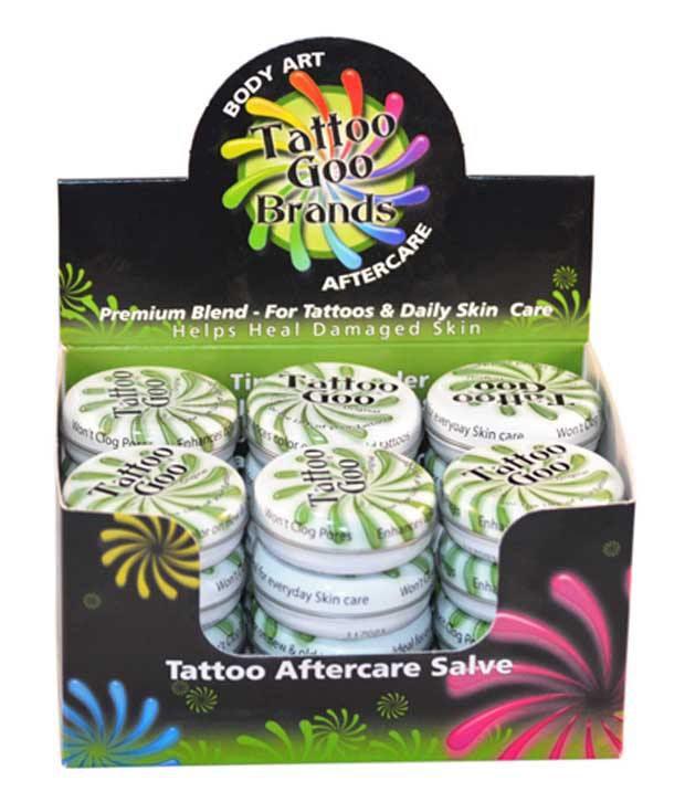Tattoo goo original ointment 21g box of 24 tins for Tattoo goo review