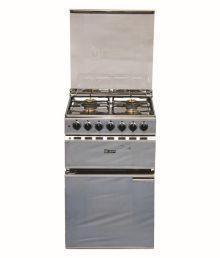 Quba 4 Burner SS Automatic Cooking Range