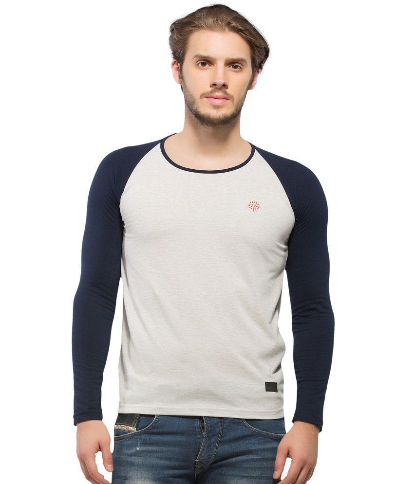 Alan Jones Milange Cotton Full Sleeve Tshirt