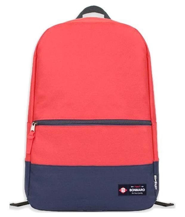 Bonmaro Playoff Red Classic CollegeSchool Bag Snapdeal  : Bonmaro Dark Red School Bag SDL861313934 1 56d27 from compare.buyhatke.com size 620 x 726 jpeg 29kB