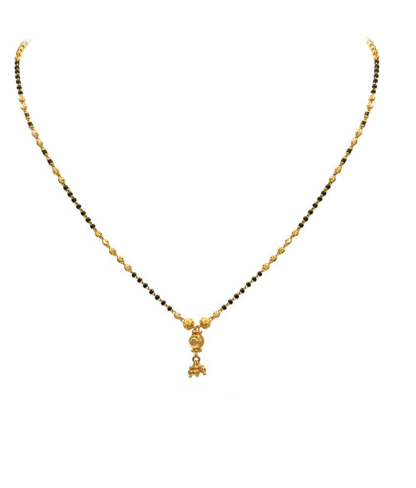 P.N.Gadgil 22kt Gold Mangalsutra