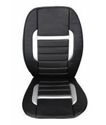 Speedwav Black C1 Leatherette Car Seat Cover For Chevrolet Spark Old