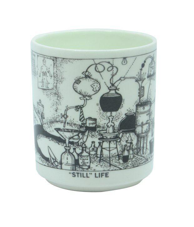 Mario Gallery Still Life Mugs - Art by Mario Miranda