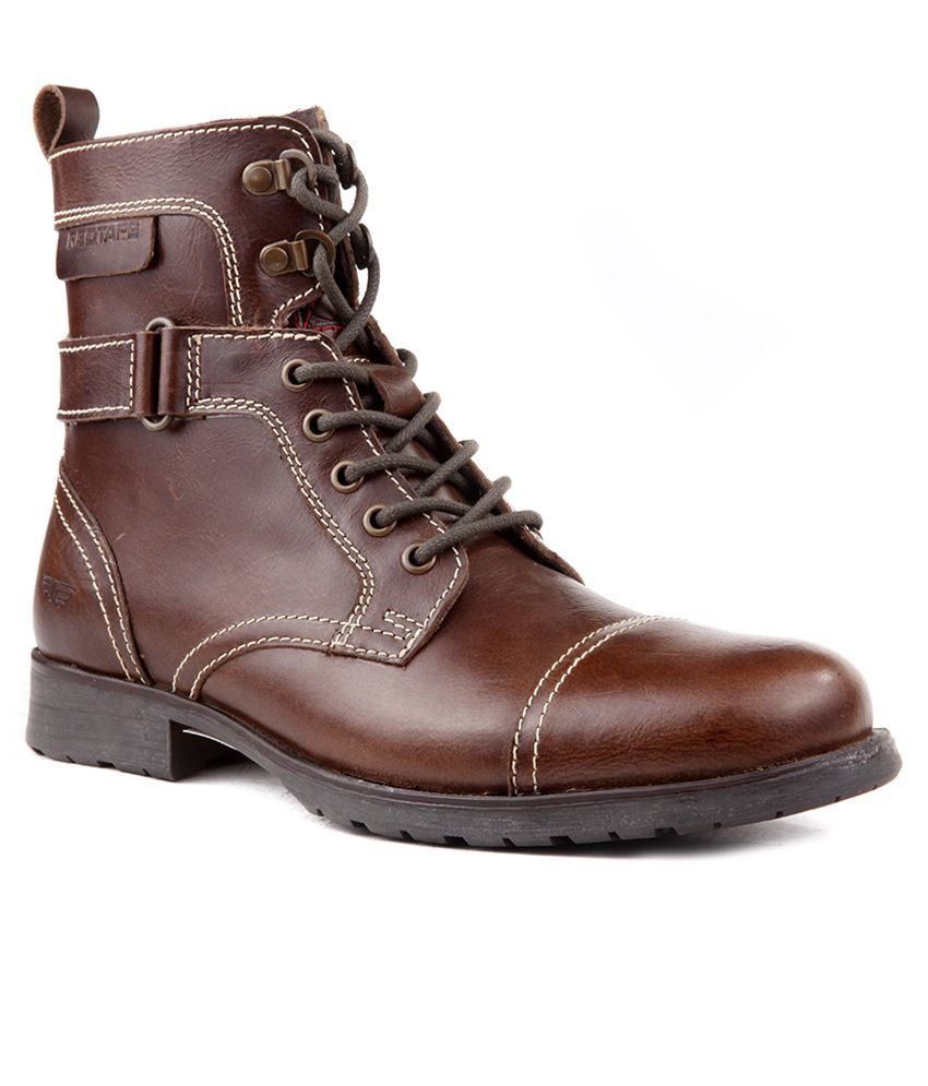1a7523a486aed0 Red Tape RTS6228 Brown Boots - Buy Red Tape RTS6228 Brown Boots Online at  Best Prices in India on Snapdeal