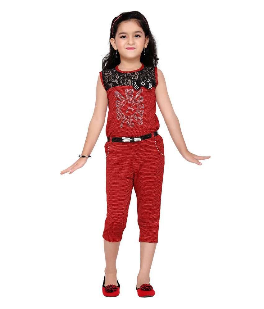 0eacaae77306 Aarika Girls Party Wear Jumpsuit - Buy Aarika Girls Party Wear Jumpsuit  Online at Low Price - Snapdeal