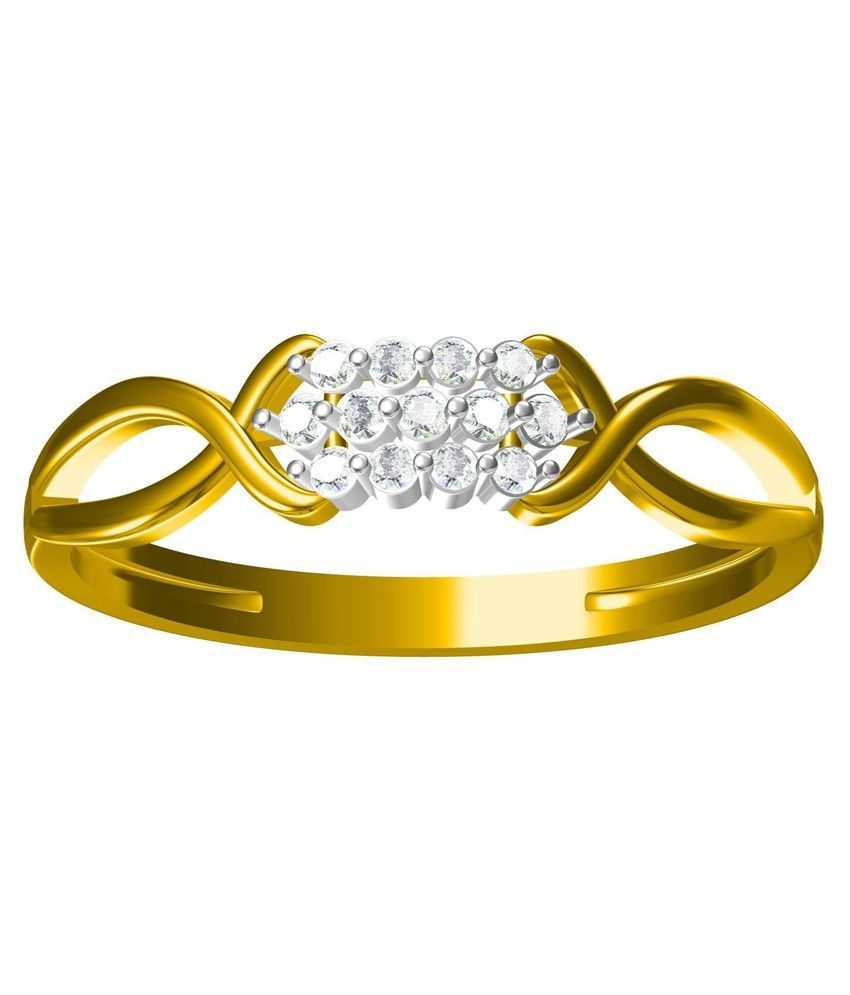 Gold Tree Jewellers Private Limited Gold 14Kt Diamond Ring