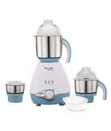 Preethi Bluberry - MG 209 Mixer Grinder White And Blue