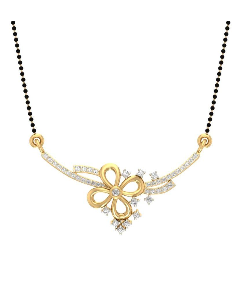 Jewels5 14Kt Gold Contemporary Mangalsutra