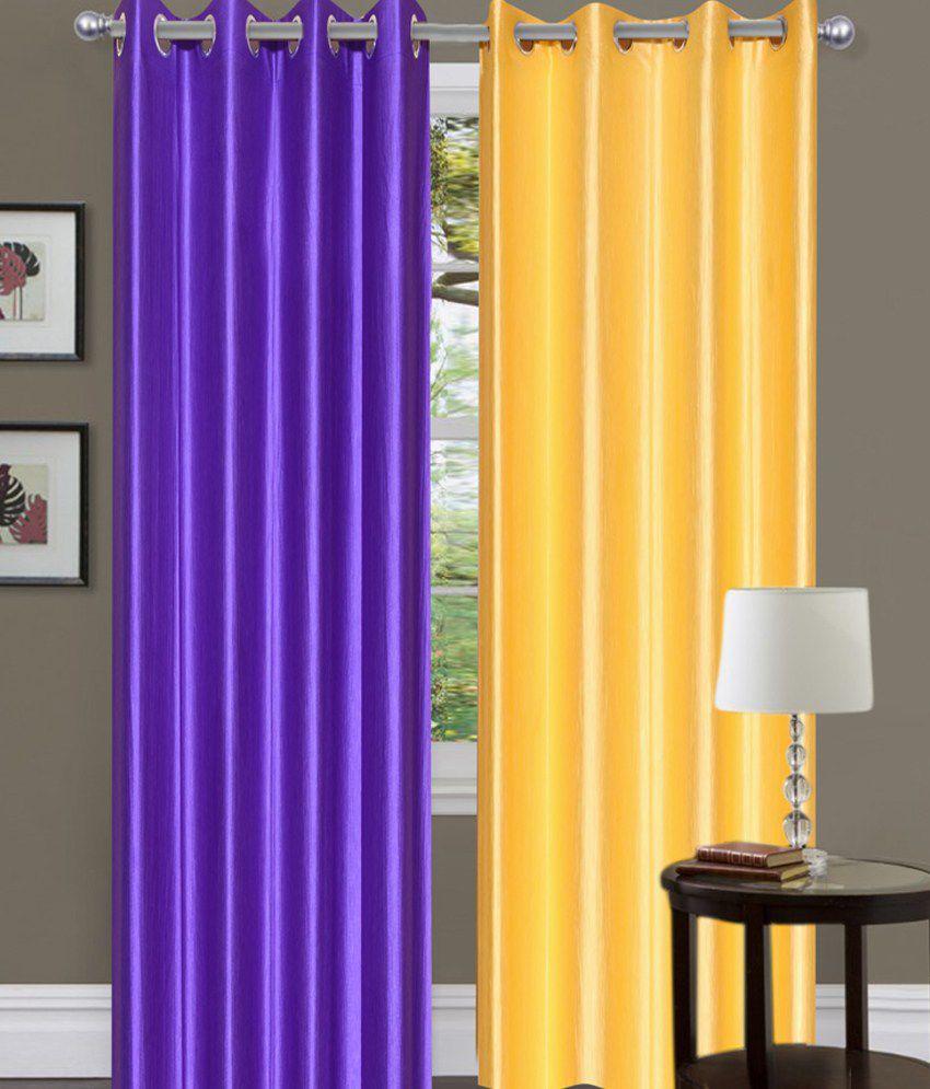 Brand Decor Set Of 2 Door Eyelet Curtains Buy Brand Decor Set Of 2 Door Eyelet Curtains Online