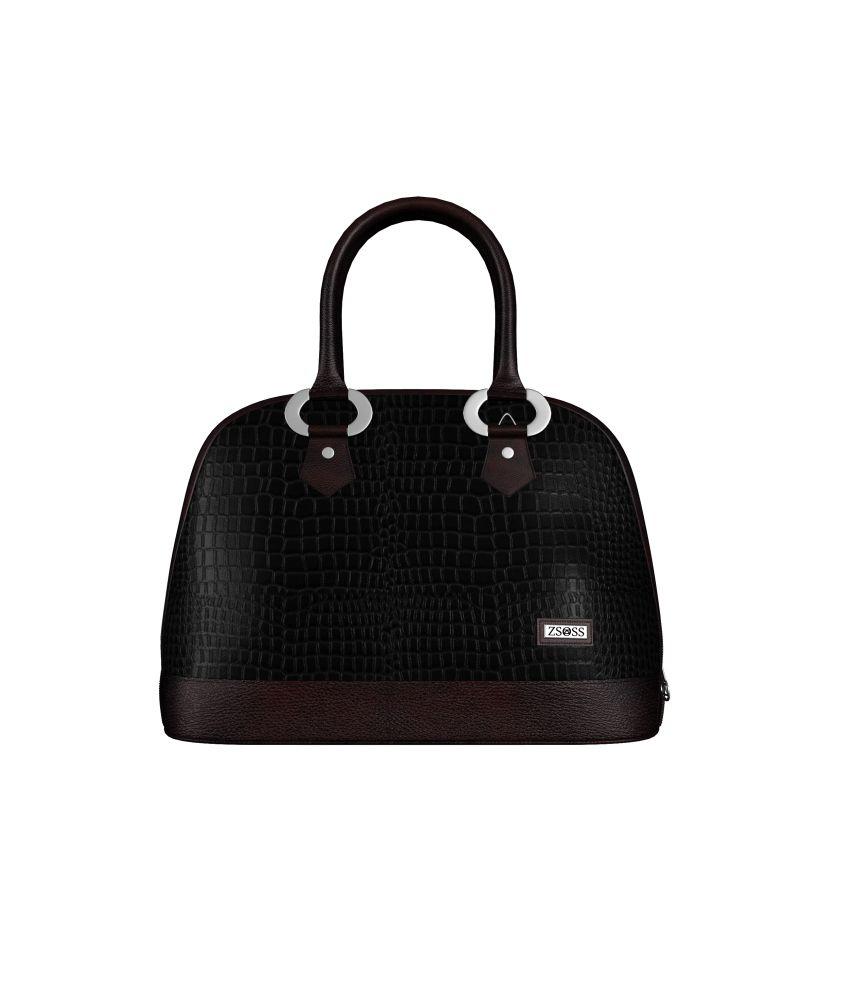 Zsoss ZBCRCBRN004S Black Shoulder Bags