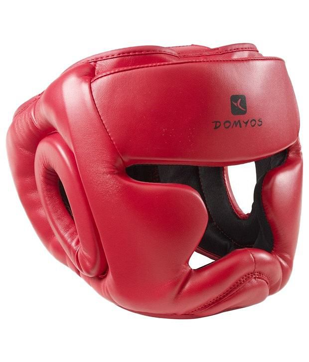 Domyos Red Junior Combat Sports Helmet