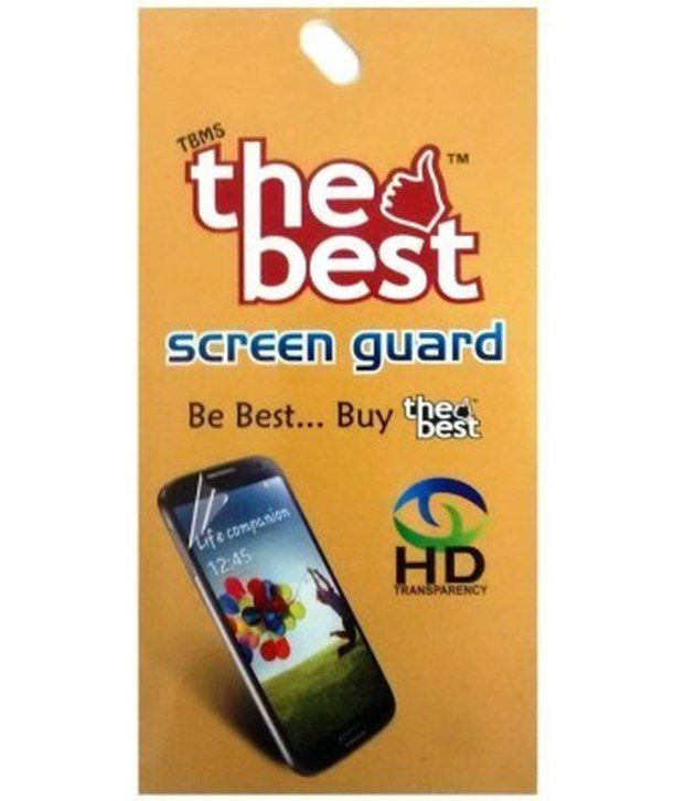 Samsung Rex 80 Clear Screen Guard by The Best