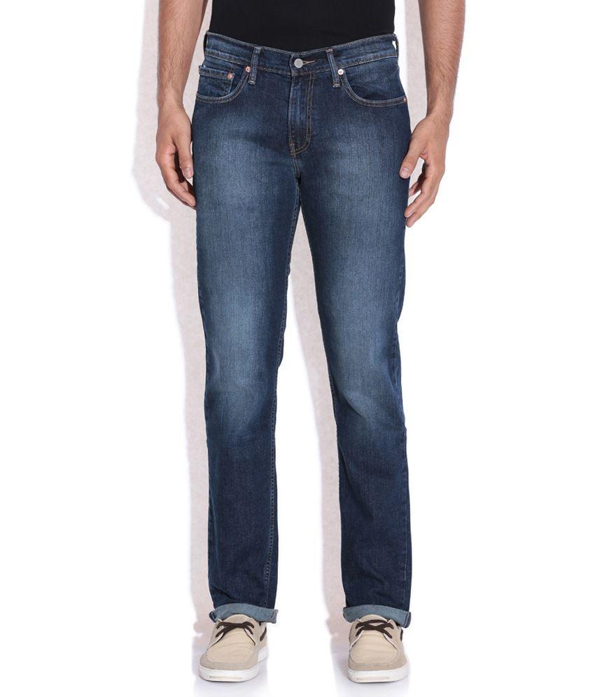 Levis Blue Basics Jeans 511
