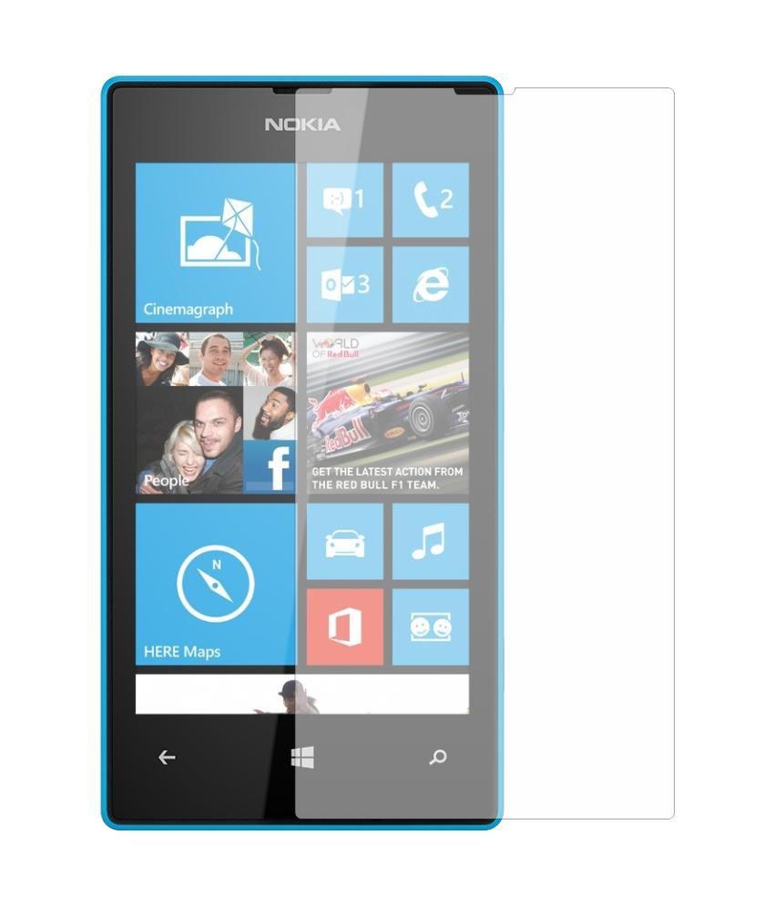 Microsoft Lumia 435 Clear Screen Guard by Mob Star