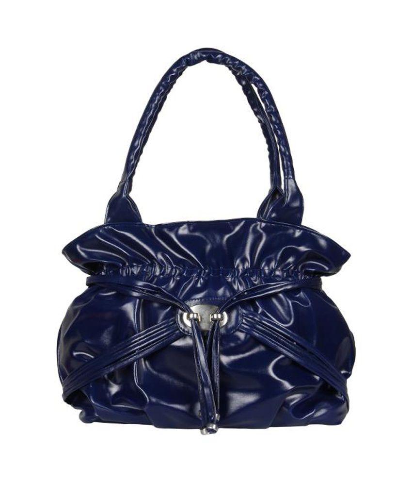 Cocktail Blue Casual Shoulder Bag