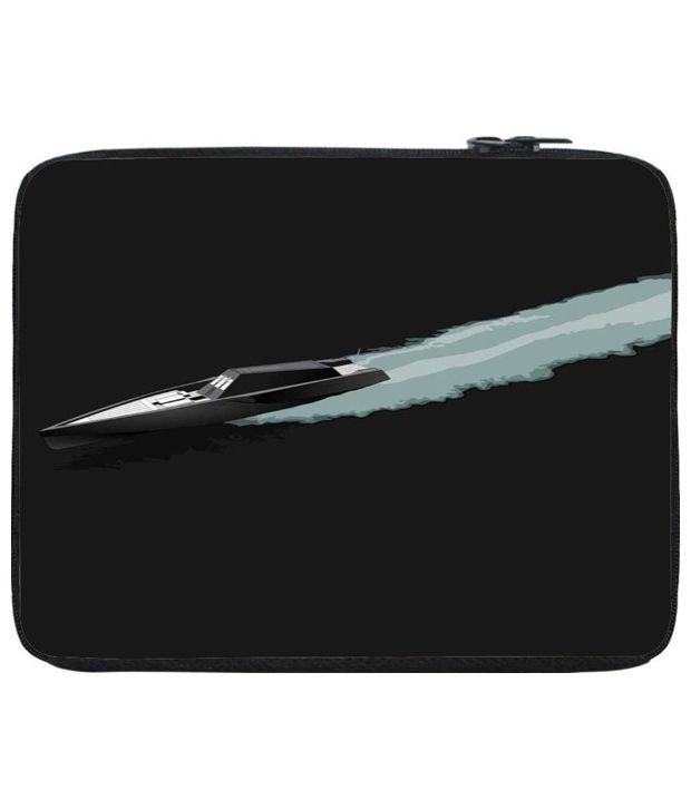 Snoog Black Laptop Sleeve