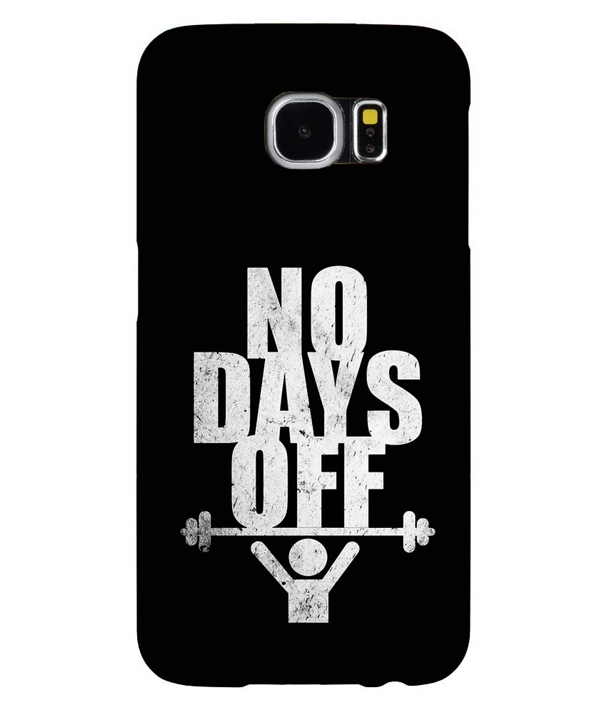 No Days Off - Phone Cover