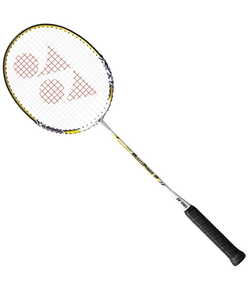 Yonex Yellow Muscle Power 2 Badminton Racket: Buy Online ...