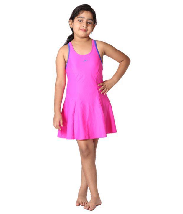Indraprastha Lycra Spandex Swimwear For Female/ Swimming Costume