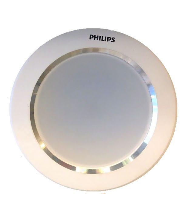 Ceiling Lamp Installation Cost: Philips 10 Watts Aluminium Ceiling Lights