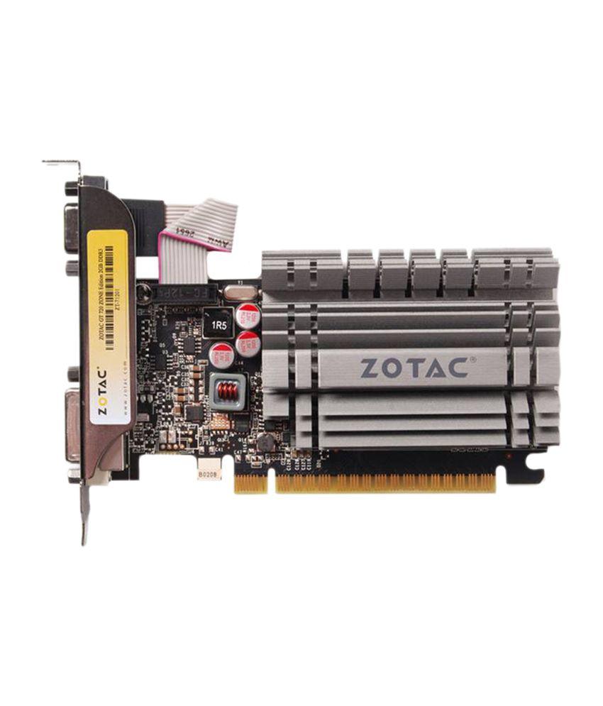Zotac NVIDIA 2 GB DDR3 Graphics card