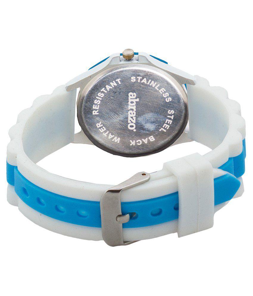 e64a085d6 Abrazo Blue Wrist Watch Price in India  Buy Abrazo Blue Wrist Watch ...