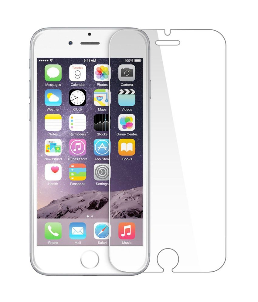 iPhone 6 - Clear Tempered Glass Screen Guard by JandA