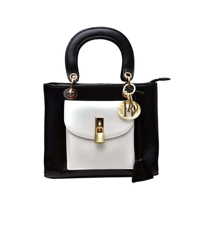 Me&i Black Shoulder Bag