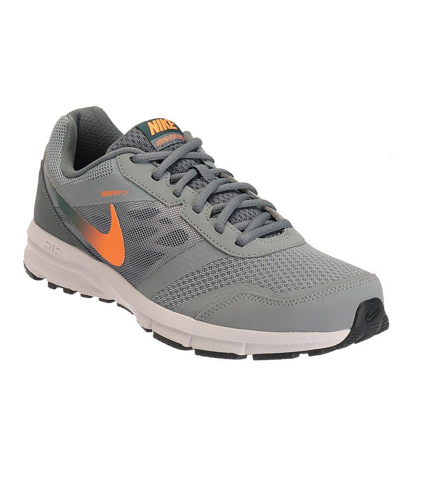 autoryzowana strona 100% najwyższej jakości niesamowita cena Nike Air Relentless 4 Grey Sports Shoes