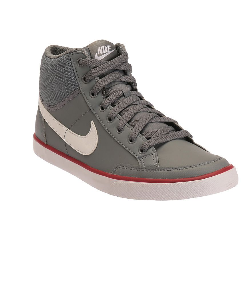 Nike Capri III Grey and White Casual Shoes - Buy Nike Capri III Grey and  White Casual Shoes Online at Best Prices in India on Snapdeal ef1078ddf