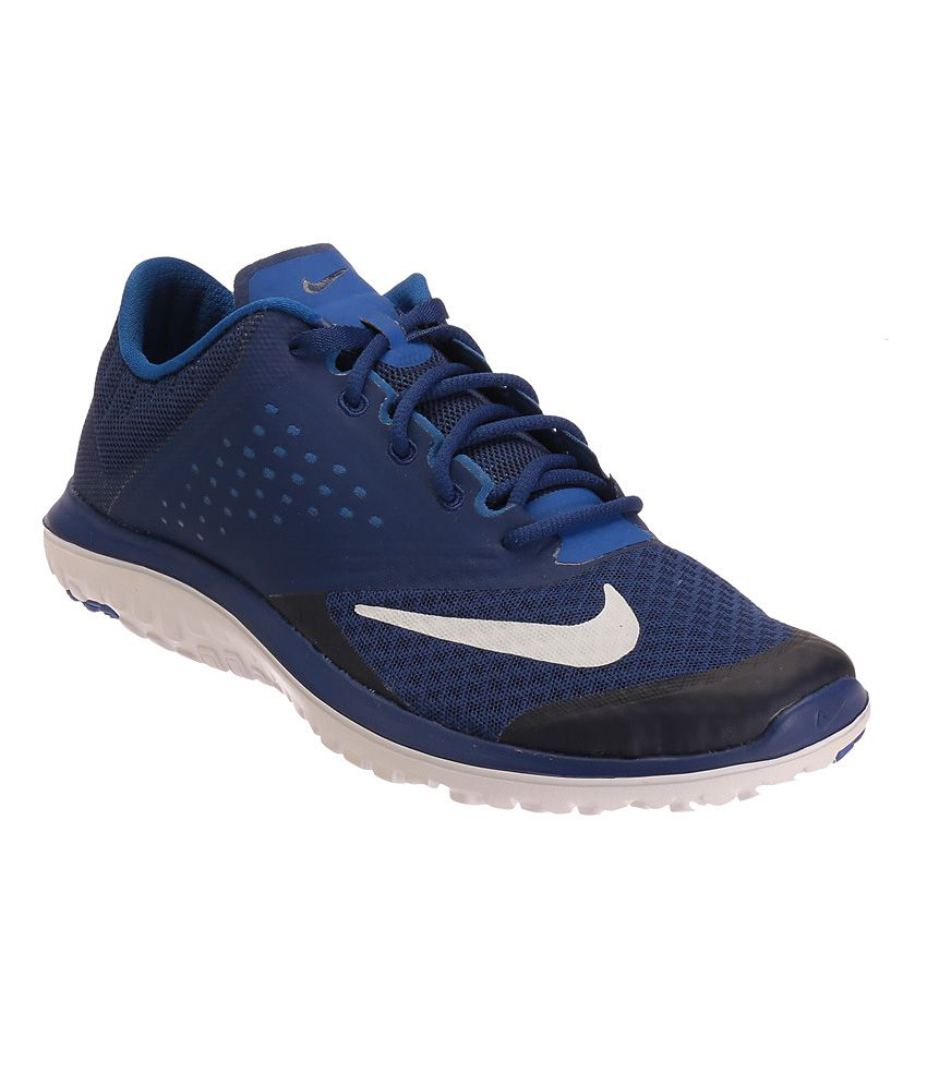 huge discount 1f932 aa362 Nike Fs Lite Run 2 Blue Sports Shoes