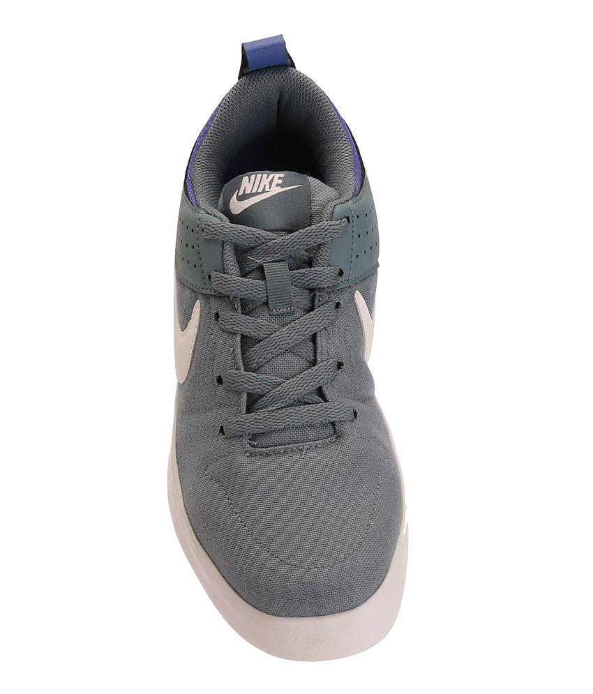 773f180655 Nike Liteforce III Grey and Blue Sneakers - Buy Nike Liteforce III ...