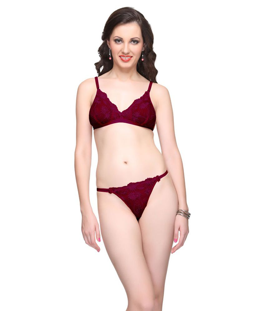 31b9682622b68 Buy Vanila Diva Bra   Penty Set Online at Best Prices in India Snapdeal