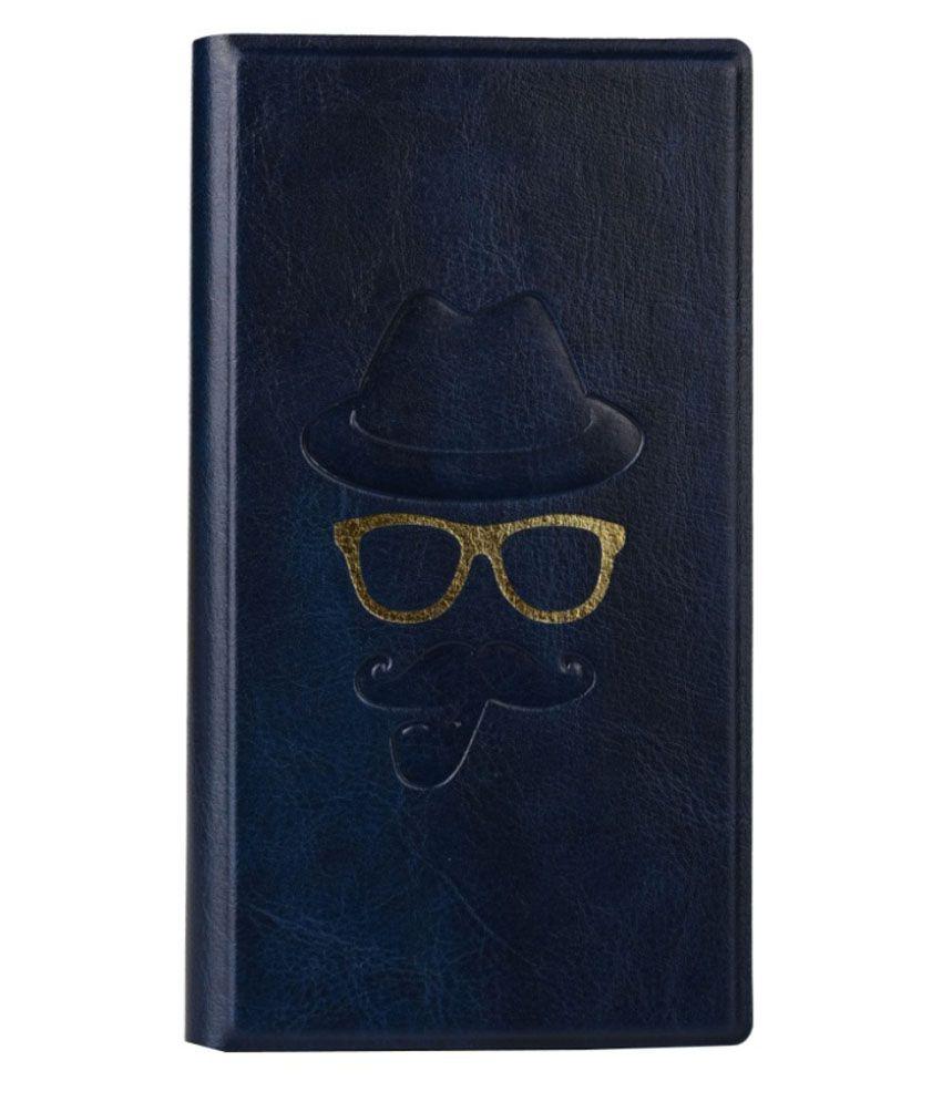 Jo Jo Synthetic Flip Cover For Alcatel Pixi 3 (5) Dark Blue