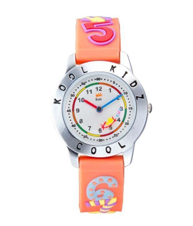 616acd8cf Kool Kidz Orange Kids Watches Price in India  Buy Kool Kidz Orange Kids  Watches Online at Snapdeal