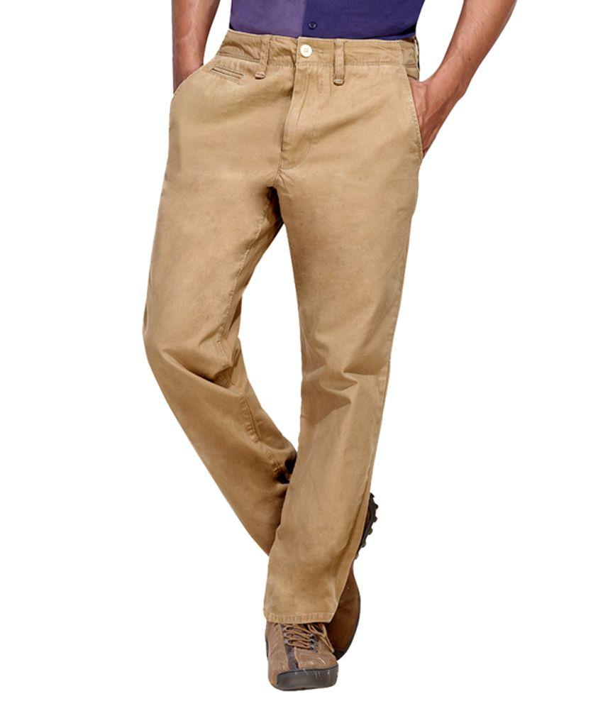 London Bee Solid Men's Trouser pant