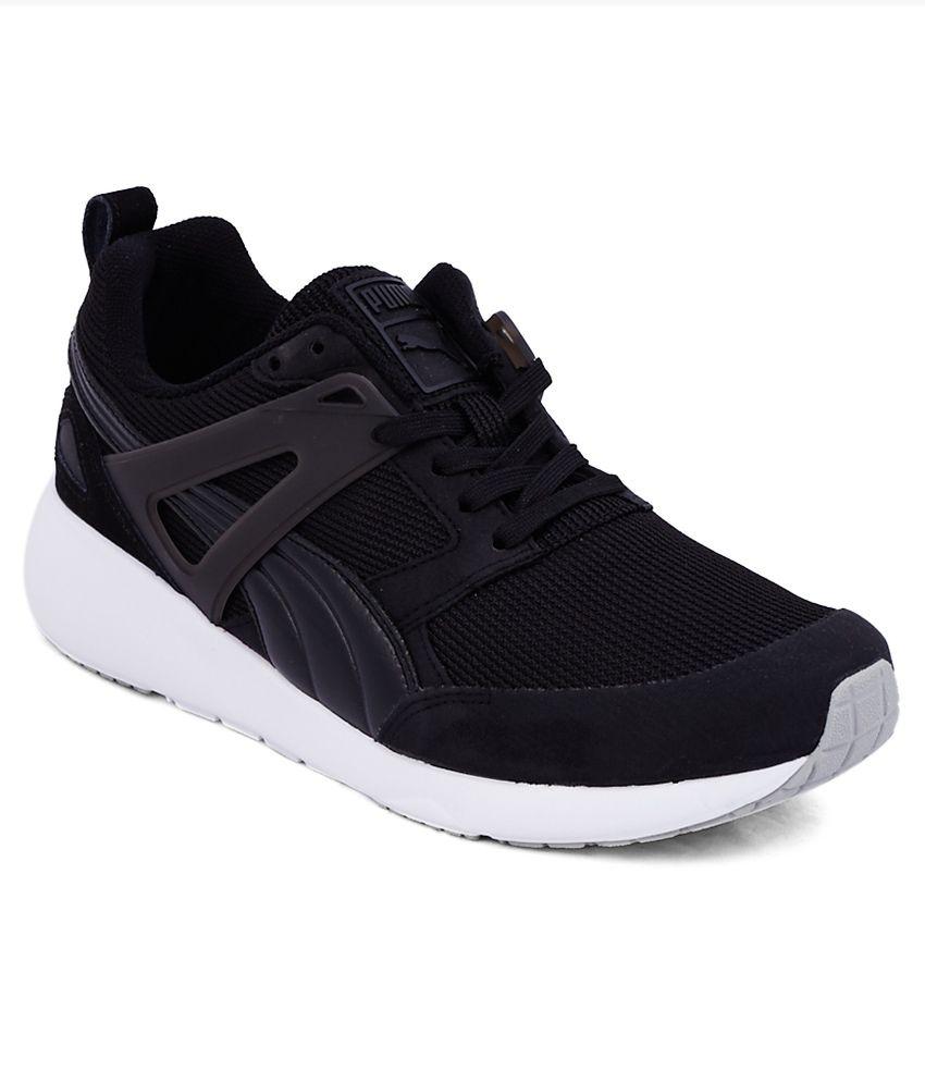 78dadeafdf9e Puma Aril Black Sports Shoes - Buy Puma Aril Black Sports Shoes ...
