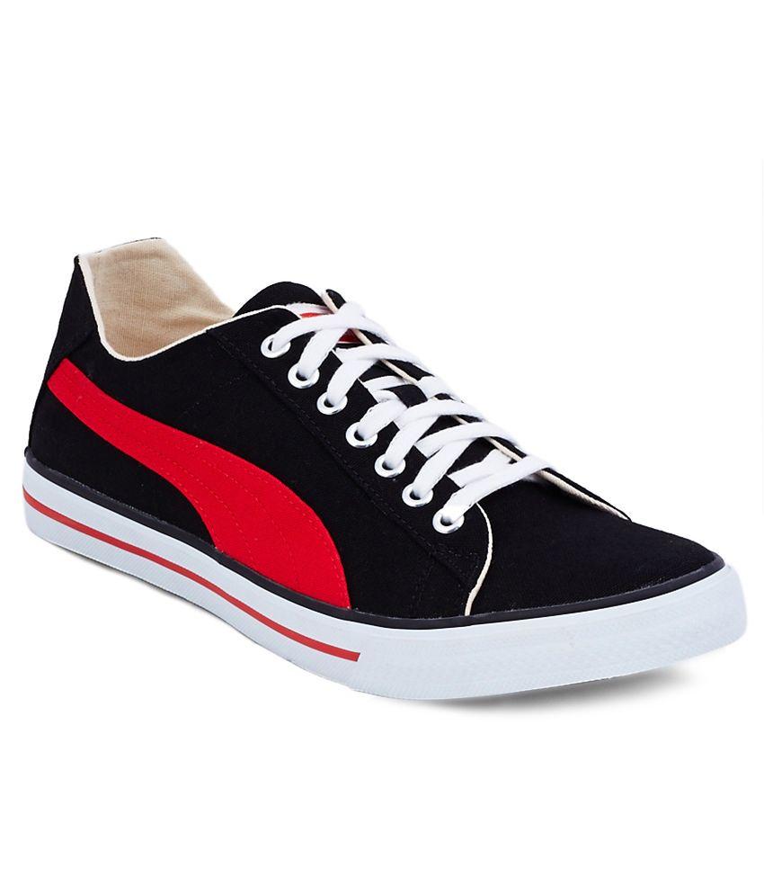 sélection premium 9b65e 68d9f Puma Black Canvas Shoes - Buy Puma Black Canvas Shoes Online ...