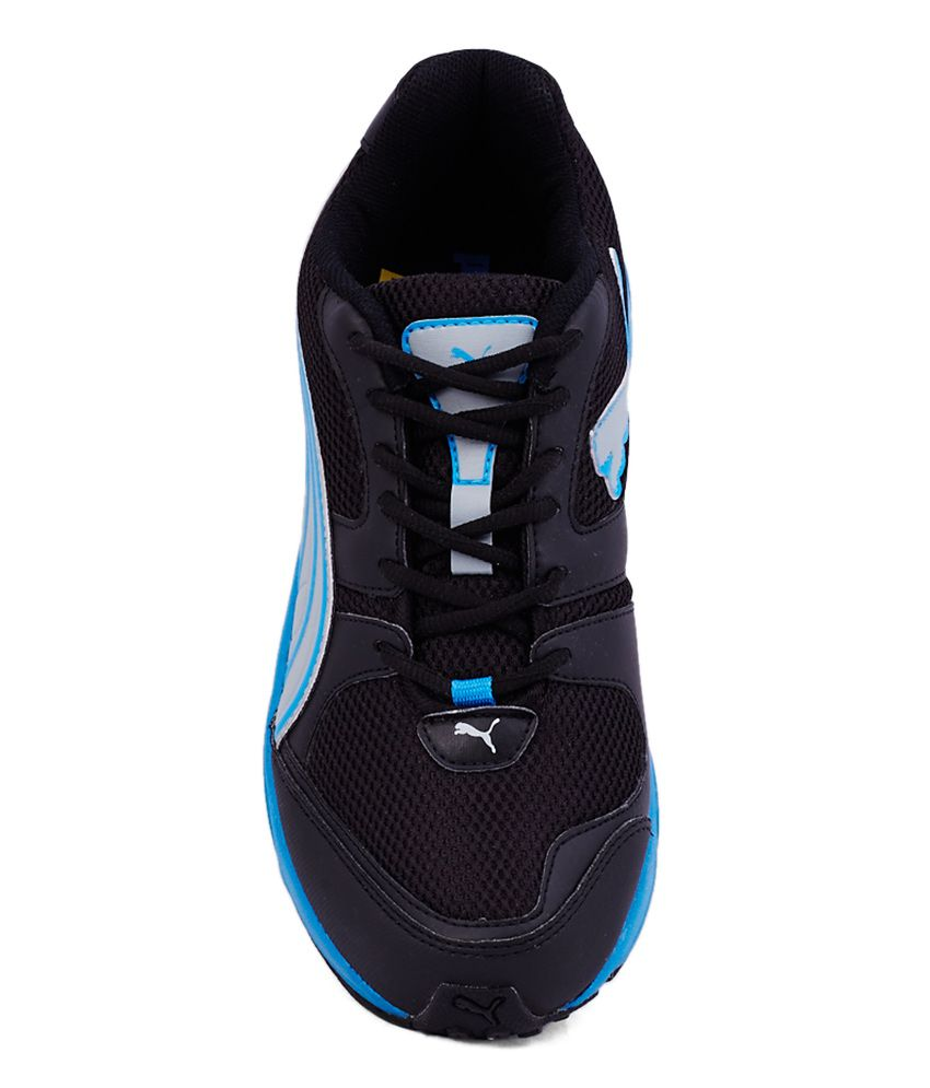 f6cc521e Puma Strike Fashion Ii Black And Blue Sport Shoes
