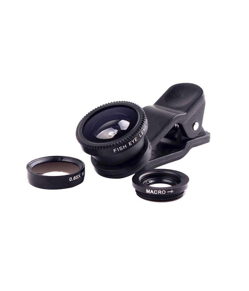 Smiledrive Universal Mobile Lens Kit-fisheye Lens - Pack of 3